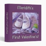 Baby's First Valentine! photo binders Valentine's