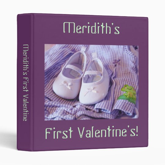Baby's First Valentine! photo binders Valentine's