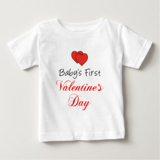 Baby's First Valentine's Day Baby T-Shirt