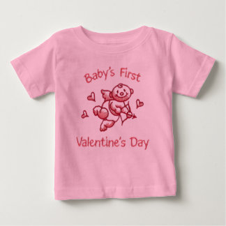 Baby's First Valentines Day Baby T-Shirt