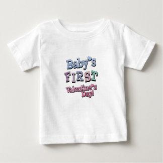 Babys First Valentine's Day Boy  Infant T-Shirt