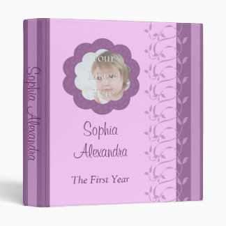 Baby's First Year Avery Binder
