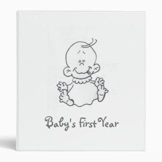 Baby's First Year Binder