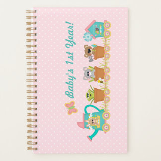 Baby's First Year Frog Train Planner