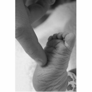 Baby's Foot Cutout
