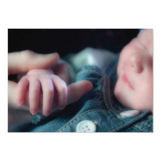 Baby's Hand  Invitation