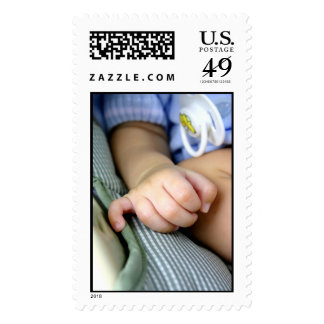 Baby's Hand Postage Stamp