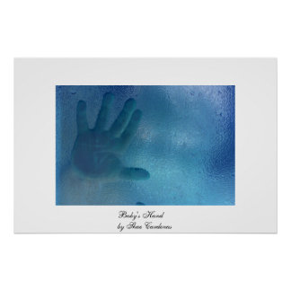 Baby's Hand Poster
