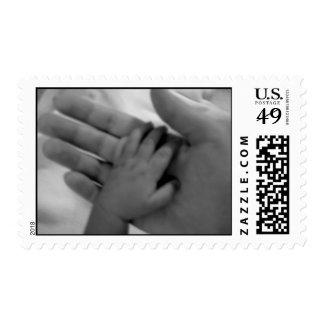 Baby's Hand Stamp