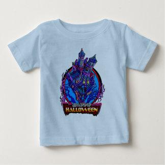 Babys Happy Halloween Mansion Baby T-Shirt