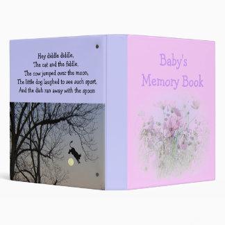 Baby's Memory Book Vinyl Binders