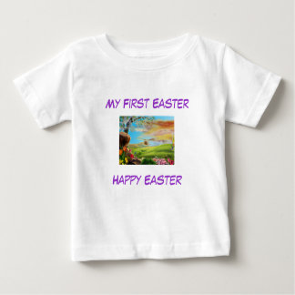 Baby's -  My First Easter Design-3 Baby T-Shirt