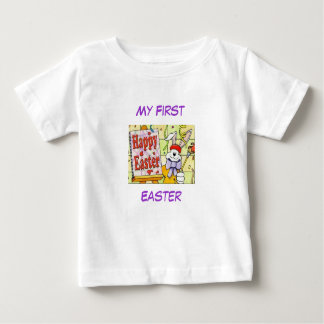Baby's - My First  Easter, Design-6 Baby T-Shirt