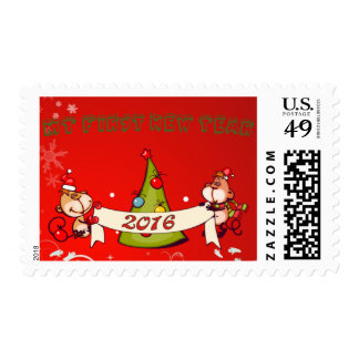 Baby's : my first new year - postage