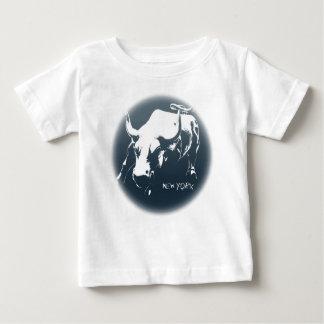 Baby's New York Shirt NYC Baby Bull Souvenir Shirt
