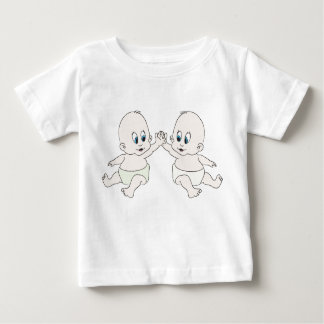 babys on front -binky on back shirt