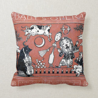 Baby's Opera of Old Rhymes Pillow