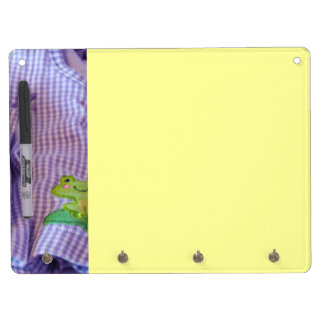 Baby's Room dry erase board Infant new Baby Frog