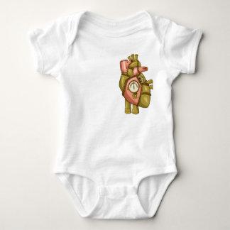 Baby's Steampunk at Heart Baby Bodysuit