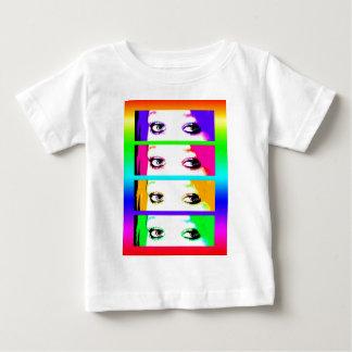 Babys T-Shirt - Psychedelic Bright Eyes