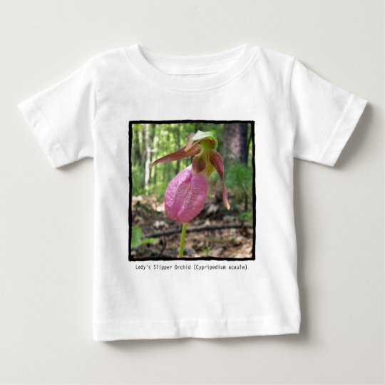 Baby's T-Shirt with Wild Orchid Photo