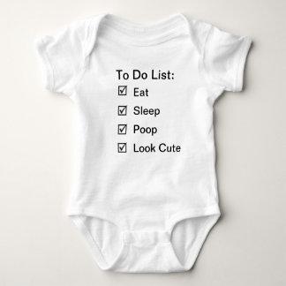 Baby's Tasks Shirt