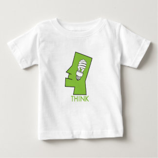 Baby's think green infant t-shirt