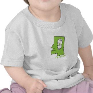 Baby's think green t shirt