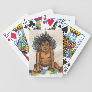 Baby's Up To No Good- Original Print Bicycle Playing Cards