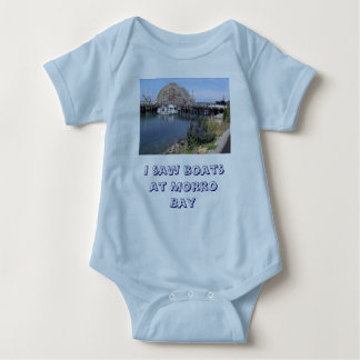 Baby's Vacation in Morro Bay Baby Bodysuit