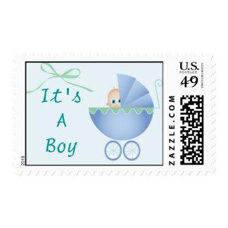 babyshower azul en el verde muchacho del its a