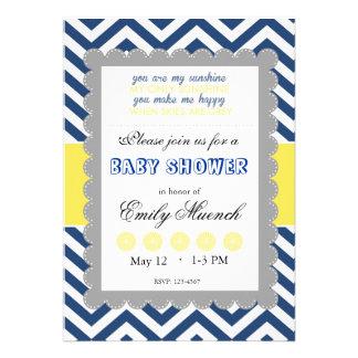 Babyshower in honor of custom invites