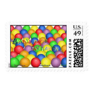 Babyshower Postage Stamp