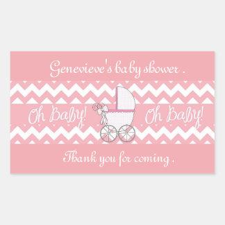 Babyshower Rectangular Sticker