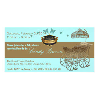 BabyShower / The Golden Carriage - Invitation