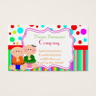 Babysitting service business cards templates zazzle babysitterbabysitting nursery school business card reheart Image collections