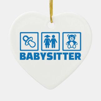 Babysitter Ceramic Ornament