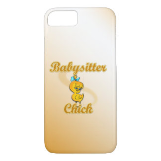 Babysitter Chick iPhone 8/7 Case