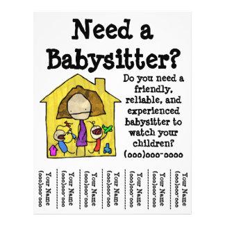 Babysitter Flyer
