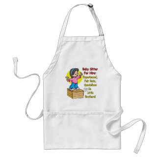Babysitter for Hire! Adult Apron