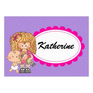 Babysitter / Mother's Helper - SRF Large Business Card
