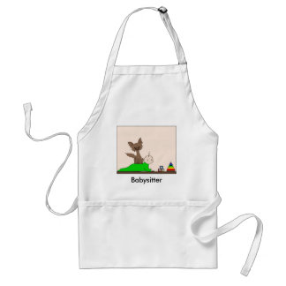 Babysitter - Pepper the Cat (Meet the Mews) Adult Apron