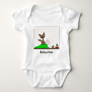 Babysitter - Pepper the Cat (Meet the Mews) Baby Bodysuit