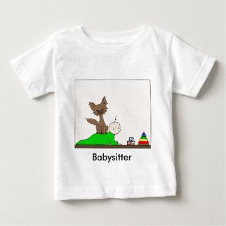 Babysitter - Pepper the Cat (Meet the Mews) Baby T-Shirt