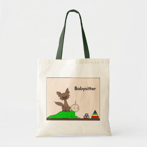 Babysitter - Pepper the Cat (Meet the Mews) Tote Bag