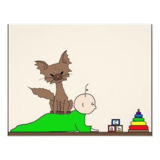 Babysitter - Pepper the Cat (Meet the Mews) Card