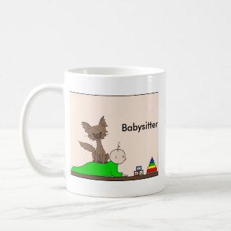 Babysitter - Pepper the Cat (Meet the Mews) Coffee Mug