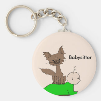 Babysitter - Pepper the Cat (Meet the Mews) Keychains