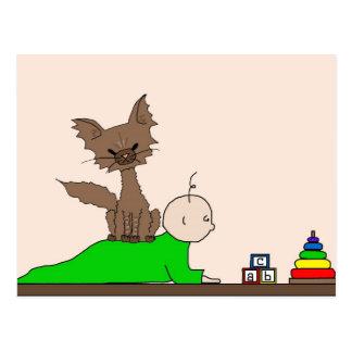 Babysitter - Pepper the Cat (Meet the Mews) Postcard