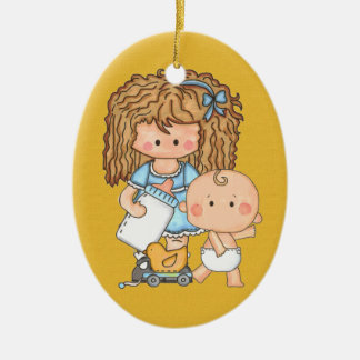 BabySitter - SRF Ceramic Ornament